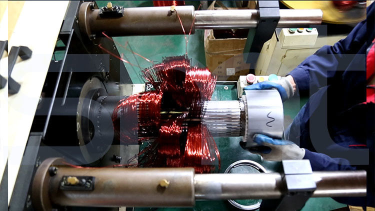 Automatic Winding Inserting Machine Wire - Inserting Type Armature Wire Winding Machine