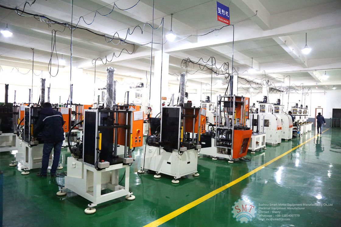 Electric Motor Stator Coil Forming Machine Stator Copper Wire Forming / Shaping